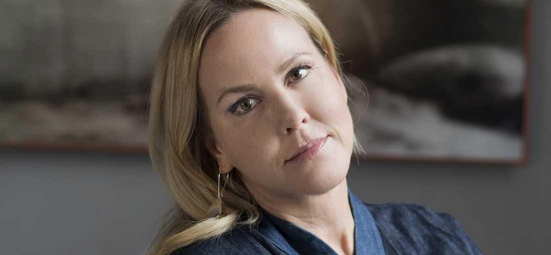 """Camilla Grebe, aktuell med """"Skuggjägaren""""."""