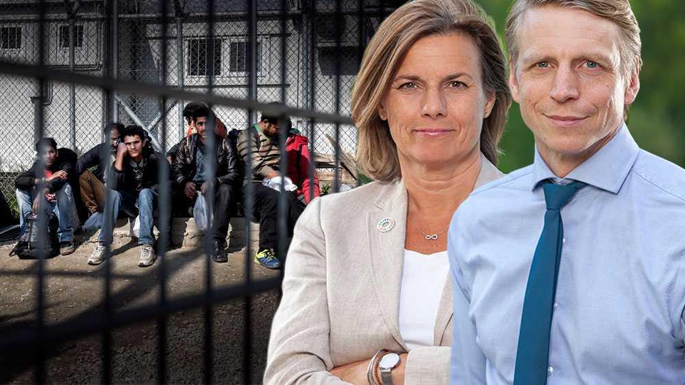 Miljöpartiet tar bestämt avstånd från ett volymmål för migrationspolitiken. De partier som väljer att införa ett sådant måste också förklara varför man vill splittra familjer eller skicka hem svårt sjuka till krigszoner, skriver språkrören Per Bolund och Isabella Lövin (MP).