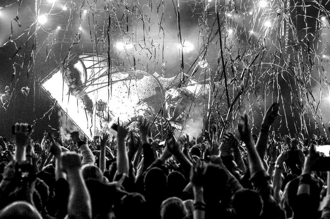 Avicii på Tele2 Arena 2014.