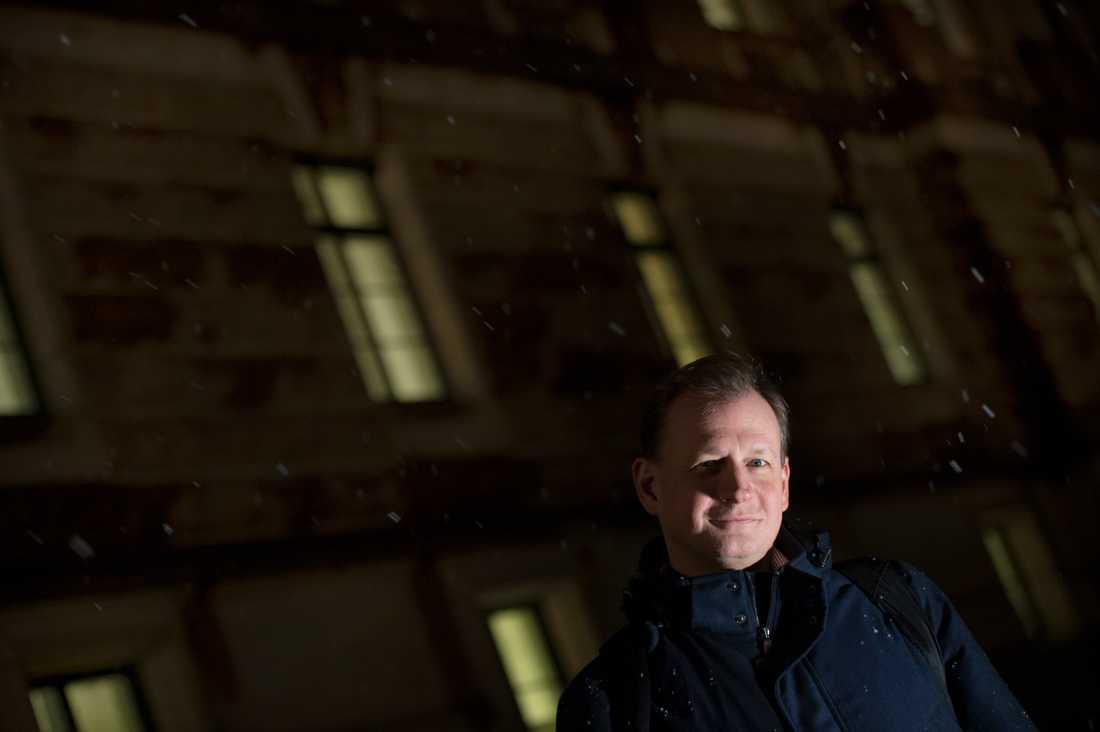 Riksdagsledamoten och miljöpartisten Carl Schlyter har kritiserat partiledningen i flera frågor. Arkivbild.