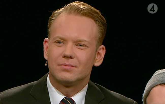 Journalisten Daniel Nyhlén.