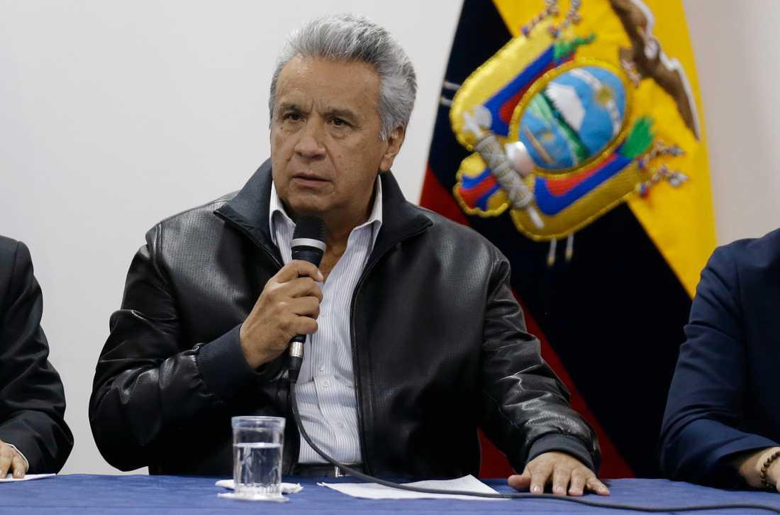 Enligt Ecuadors president låg organiserad brottslighet bakom tisdagens dödliga upplopp. Arkivbild.