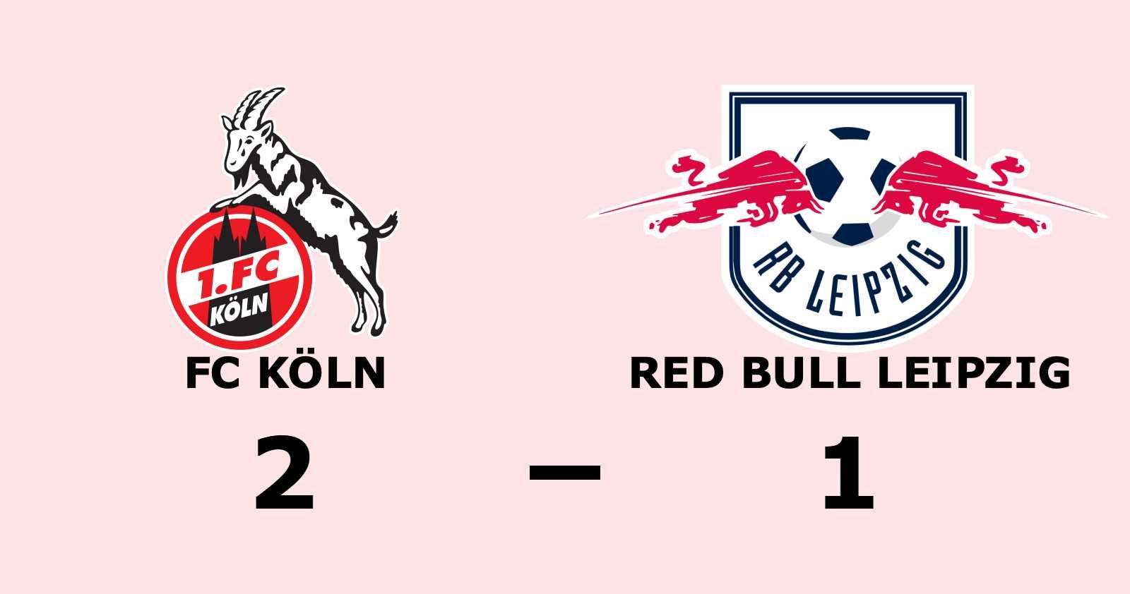 FC Köln vann efter nio matcher i rad utan seger