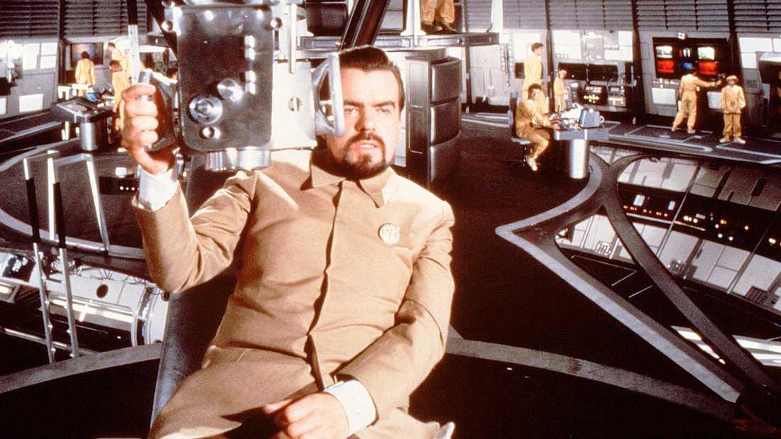 """Michael Lonsdale somHugo Drax i """"Bond""""-filmen """"Moonraker"""" från 1979"""