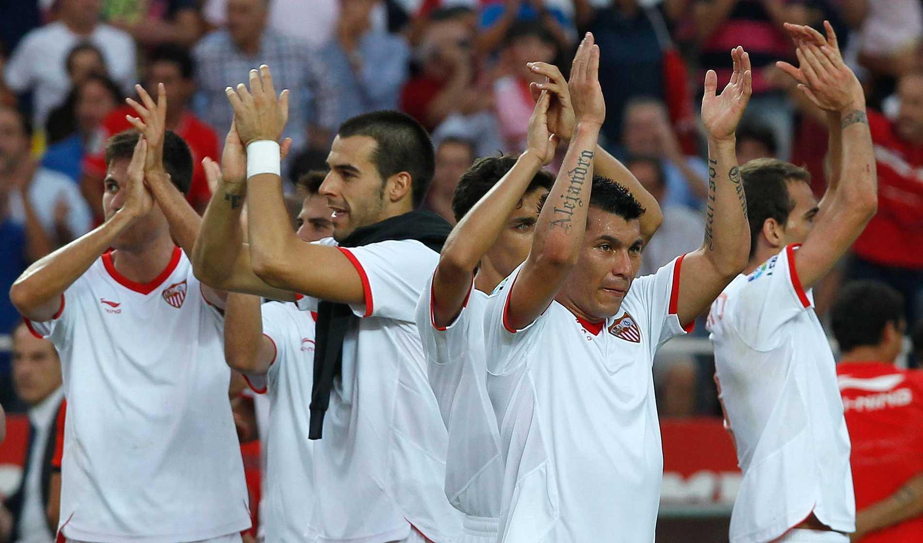 Sevilla är - tillsammans med Valencia, Benfica och Juventus - vidare i Europa League.