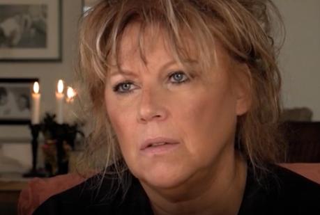 """Marie Nilsson Lind i dokumentären """"Josefin Nilsson - Älska mig för den jag är""""."""