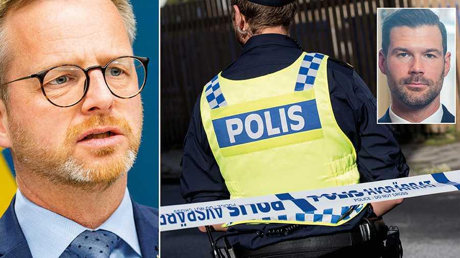 """Regeringen låter tuff mot gängkriminaliteten, men i verkligheten är man svag. Trots alla löften om """"krafttag"""" och """"mobilisering"""" har det i år varit fler skjutningar, fler avlidna och fler sprängningar än förra året, skriver Moderaternas Johan Forssell."""