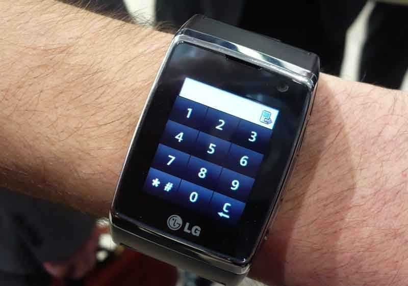 LG:s nya armbandsmobil