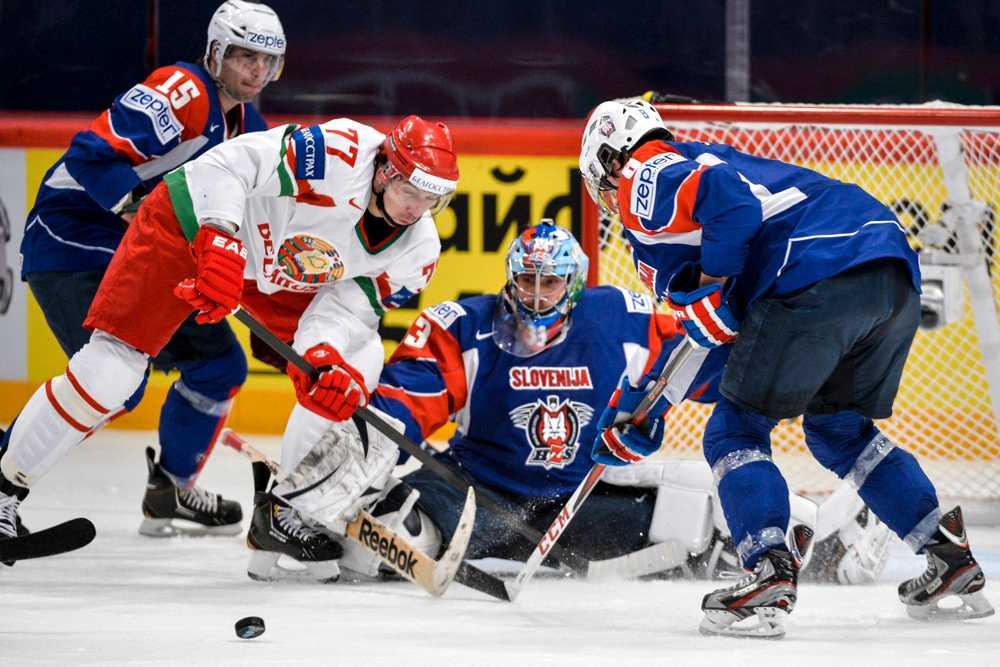 Vitryssland vann matchen med 4-3.