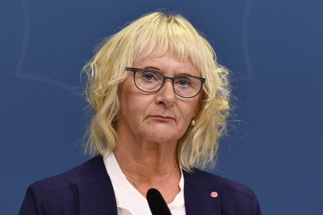 Civilminister Lena Micko (S). Arkivbild.