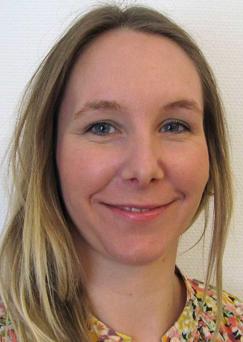 Erika Ejderhamn Roupé, förbundsjurist LO-TCO Rättsskydd.