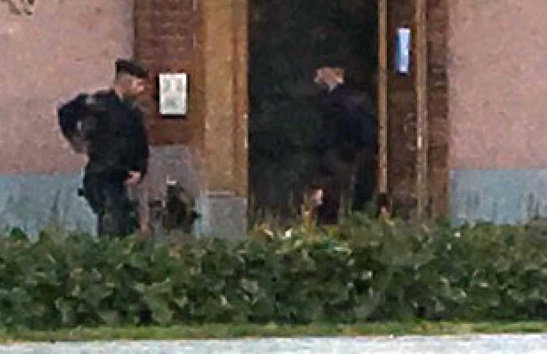 Polisinsats i Hällefors.
