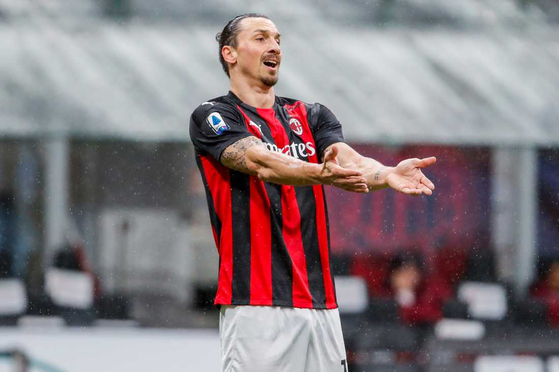 Zlatan Ibrahimovic mållös mot Spezia.