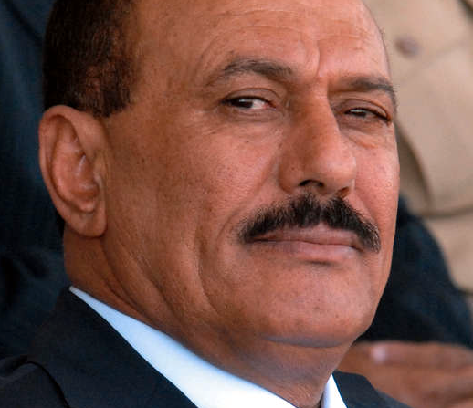 AVGÅR Jemens president Ali Abdullah Saleh kommer, efter tre decennier vid makten, inte att kräva att väljas om vid nästa val, 2013.