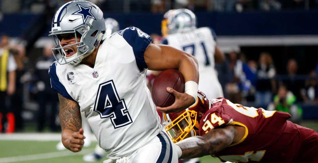 Dallas Cowboys quarterback Dak Prescott tillhör världens högst värderade idrottsklubb.