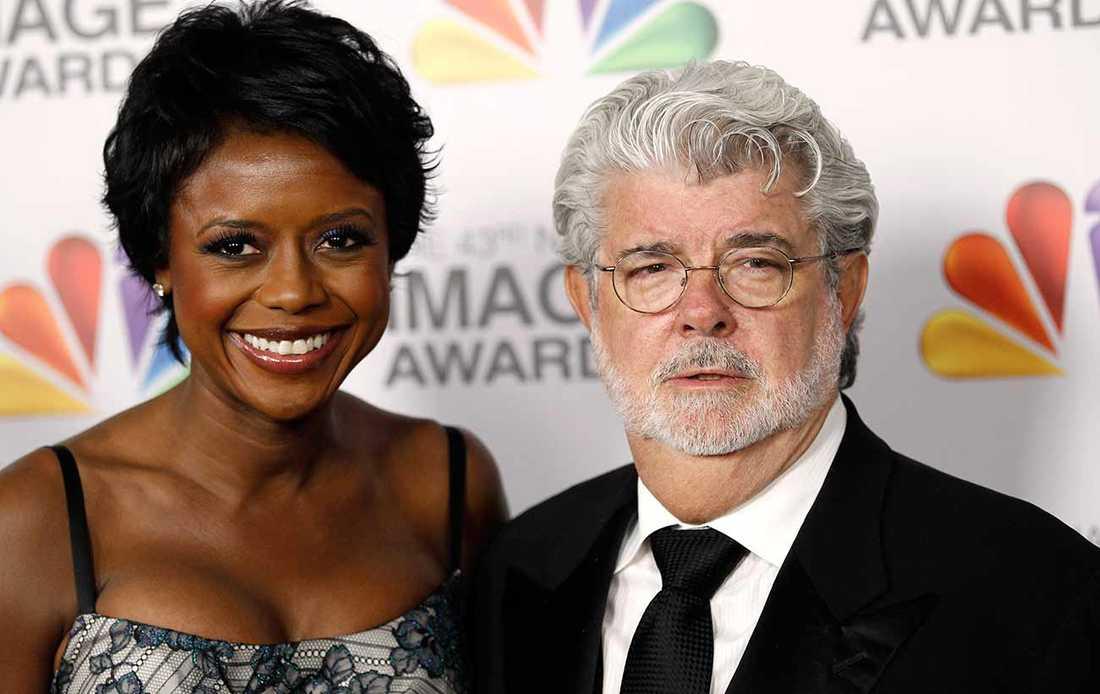 Mellody Hobson och maken George Lucas.