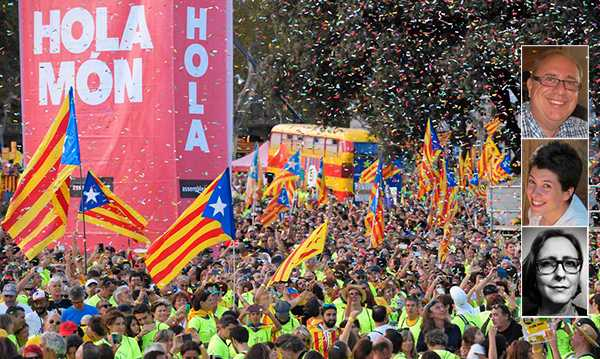 Den katalanska önskan om självständighet är inte en fråga om ekonomi i första hand, som så ofta slentrianmässigt nämns i svensk media. Det handlar också om språk, kultur och vår nationella identitet, skriver Josep Junyent, Aida Bargués Tobella och Anna Mas Ehinger.