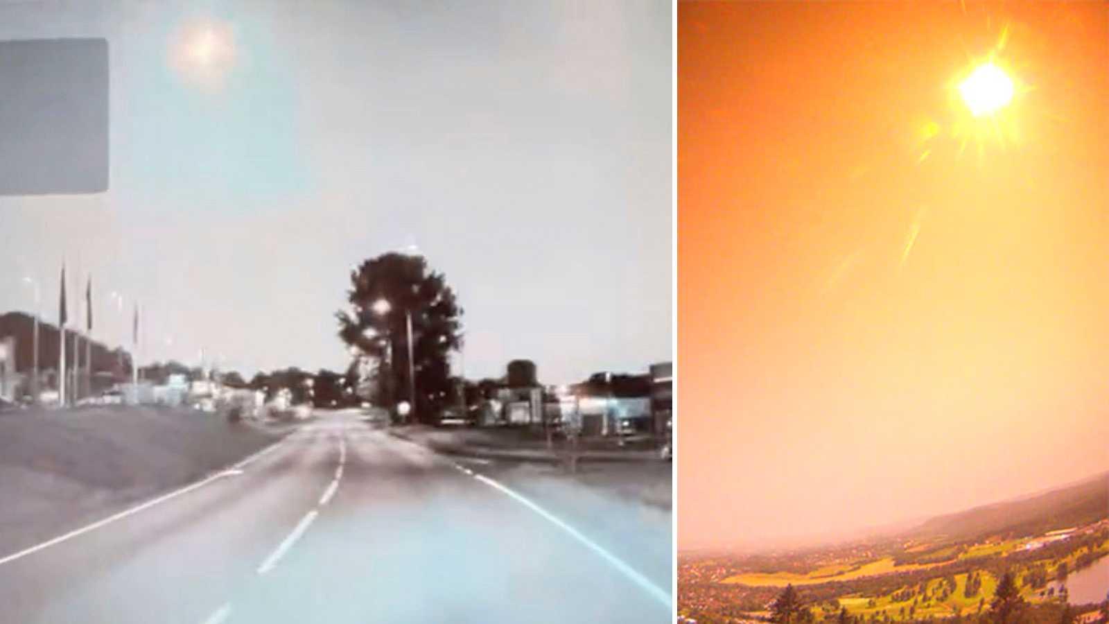 Många rapporter om eldklot på himlen över Sverige