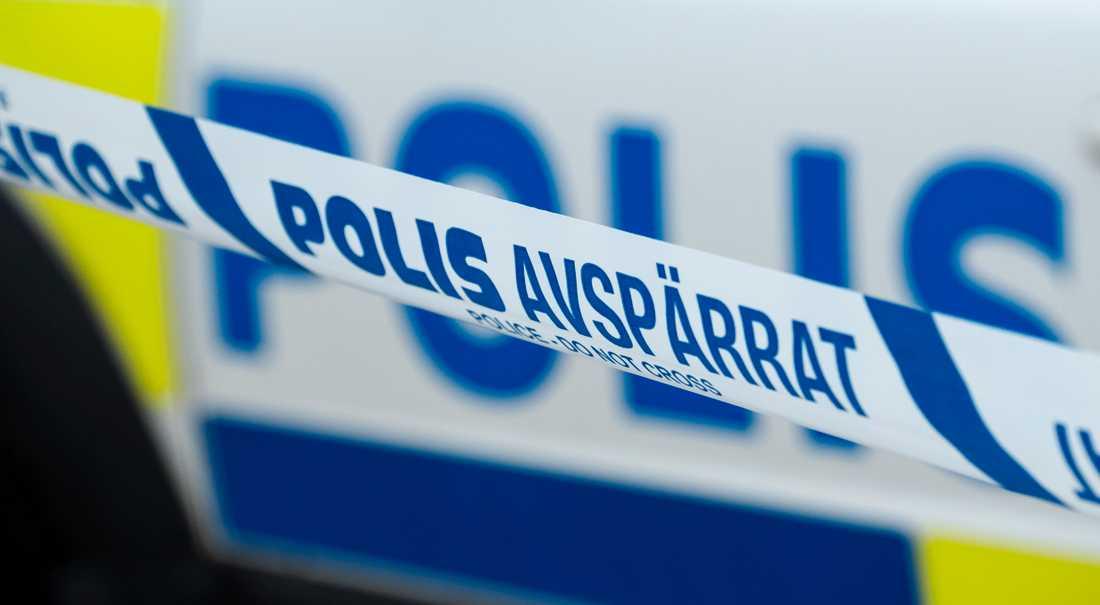 En man i 60-årsåldern har häktats misstänkt för att ha knivskurit en kvinna i Hässelby i nordvästra Stockholm. Arkivbild.