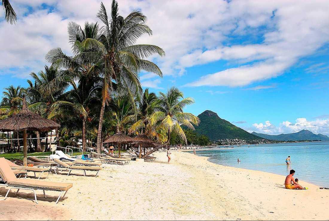 En av Miltons lyxvillor är belägen på paradisön Mauritius.