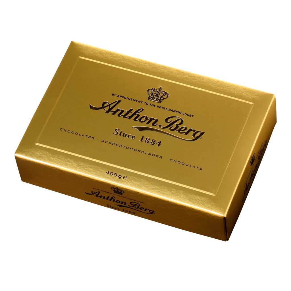 anthon berg chokladask guld