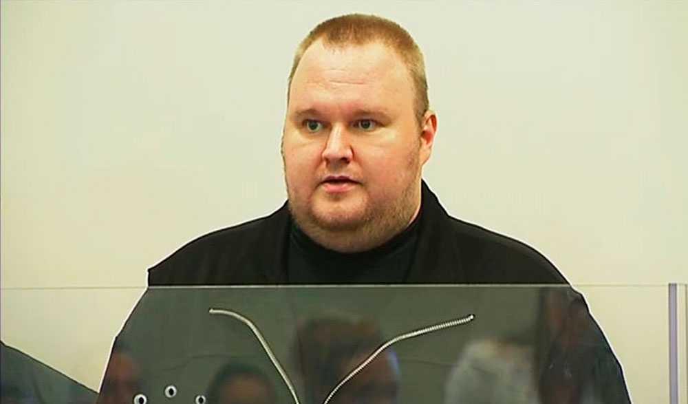 Kim Dotcom greps tillsammans med tre anställda misstänkt för upphovsbrott. REUTERS SCANPIX.