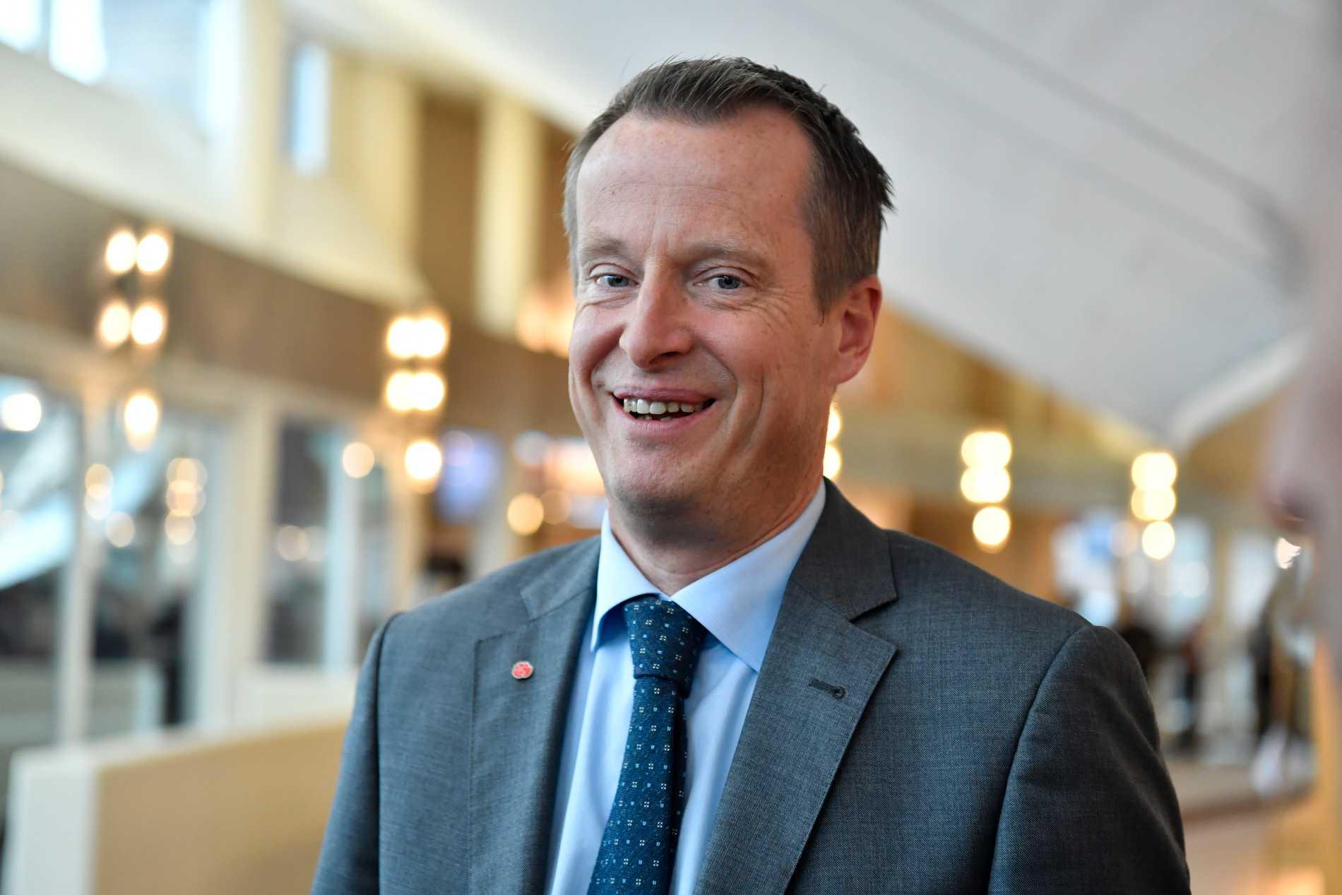 Sveriges energiminister Anders Ygeman.