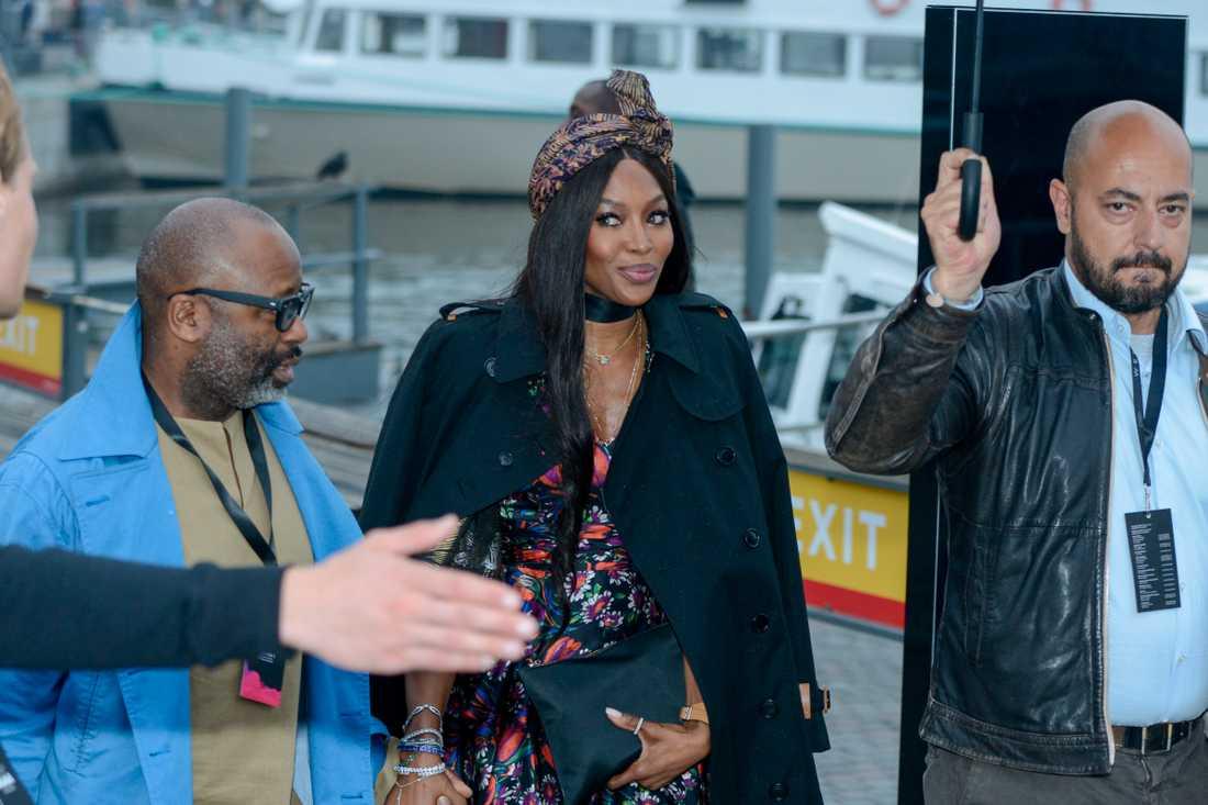 Modellen och affärskvinnan Naomi Campbell.