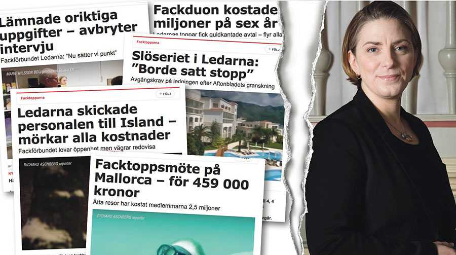 """Det är banne mig inte """"jobbigt"""" att Aftonbladet och annan media granskar vad fackförbund gör med medlemmarnas pengar. Det är bra och självklart, skriver Anna Troberg efter Aftonbladets granskning """"Facktopparna""""."""