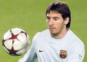 Tveksamt om Messi lirar.