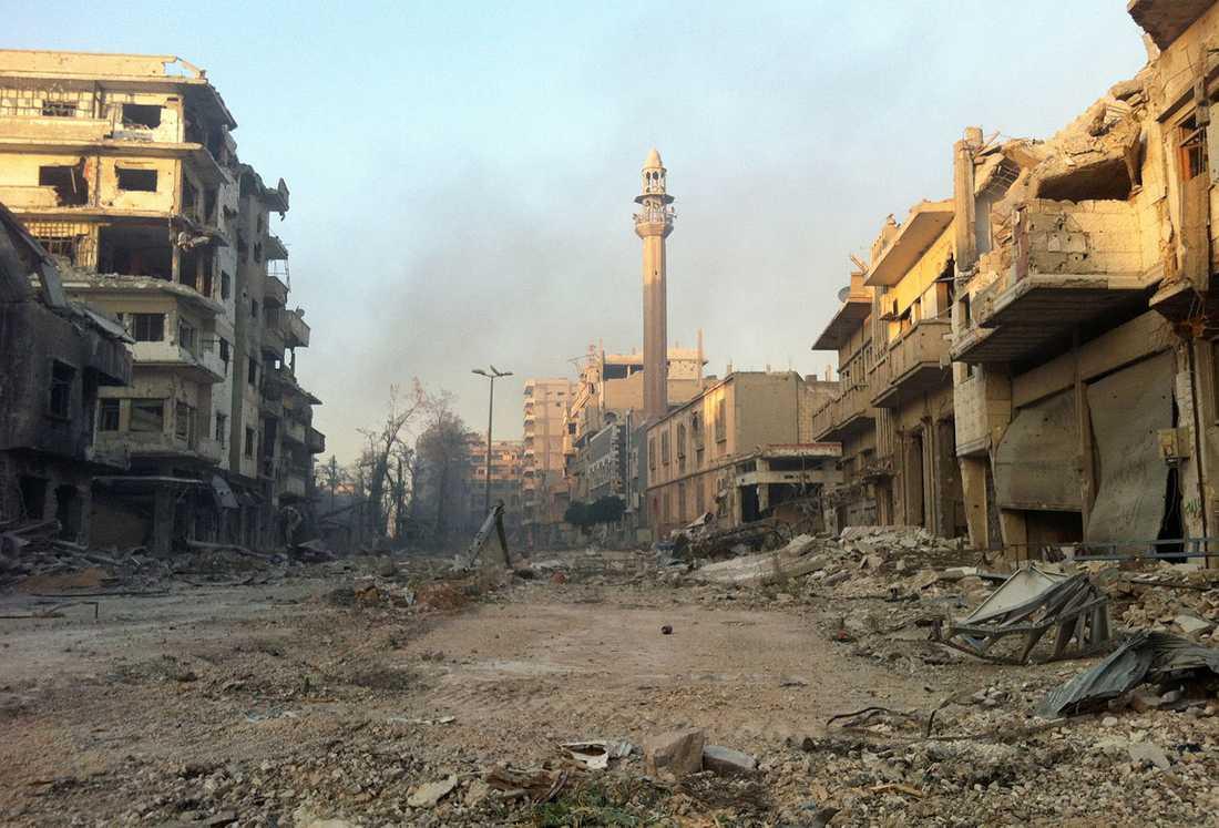 Förutom att Homs som rebellfäste är en symboliskt viktig vinst för regimen har staden en strategiskt viktig position. Dels på vägen från Damaskus till havet, dels mellan Damaskus och Aleppo.