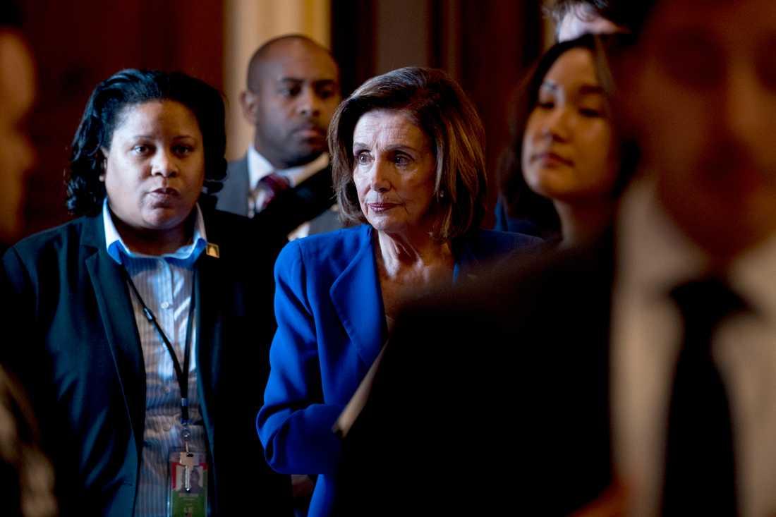 Representanthusets demokratiska talman Nancy Pelosi.