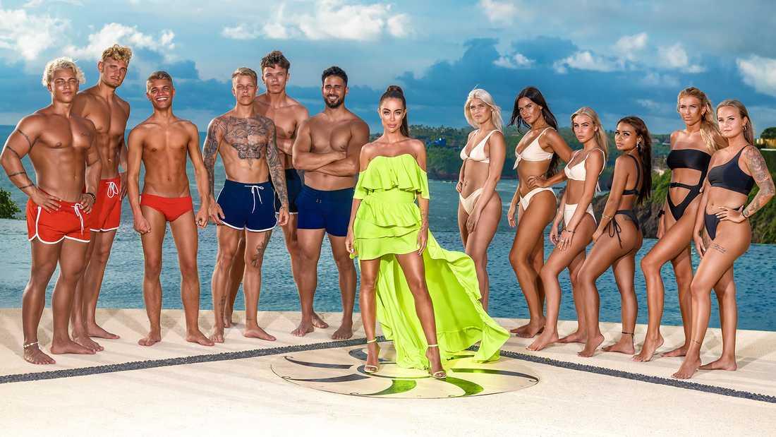 """Deltagarna i """"Paradise hotel"""" våren 2020."""