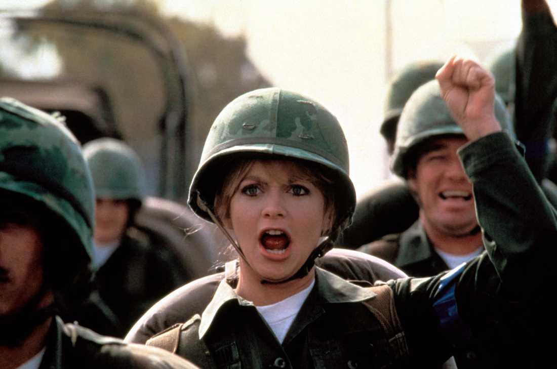 "Goldie Hawn i ""Private Benjamin"""