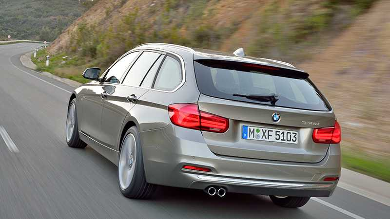 Nya BMW 3-serie.