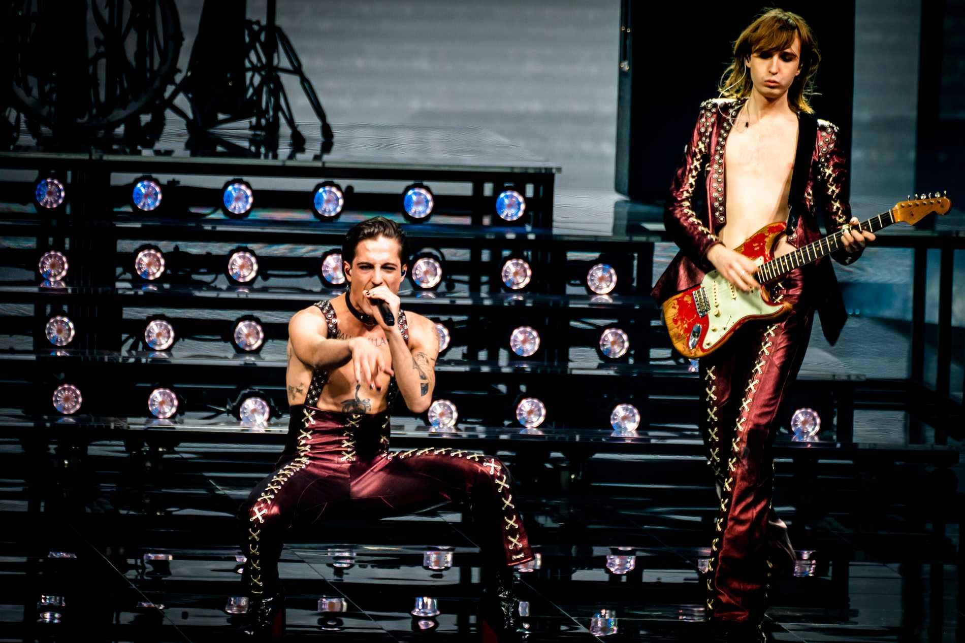 3500 tilläts i publiken när Måneskin tog hem seger i Eurovision song contest 2021