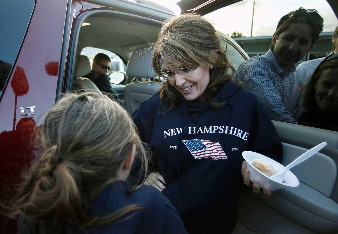 GJORT DET IGEN Sarah Palin blandade under en tv-intervju ihop amerikansk historia och kallade en hjälte – för fiende.