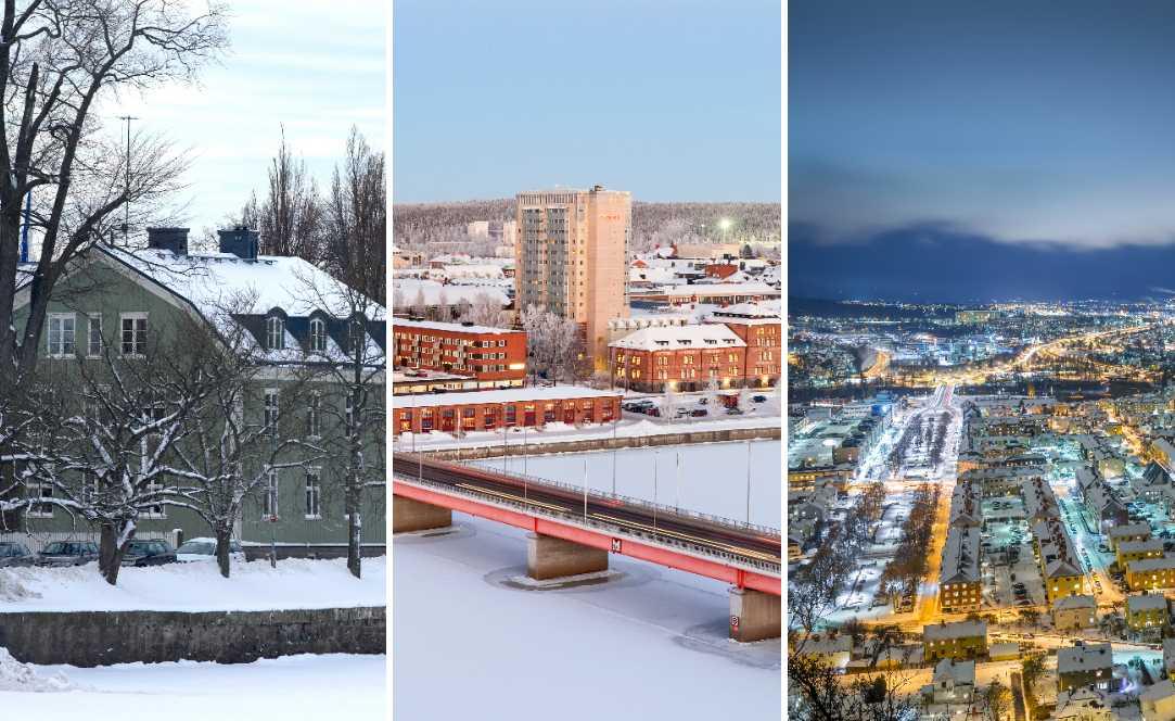 Bostadspriserna har sjunkit mest i Karlstad, Umeå och Jönköping.