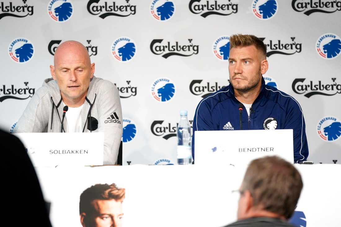 Bendtner och Solbakken.