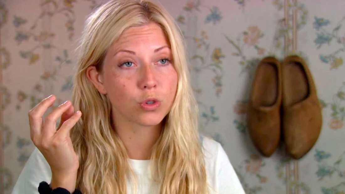 "Sigrid Bernson i ""Farmen VIP""."