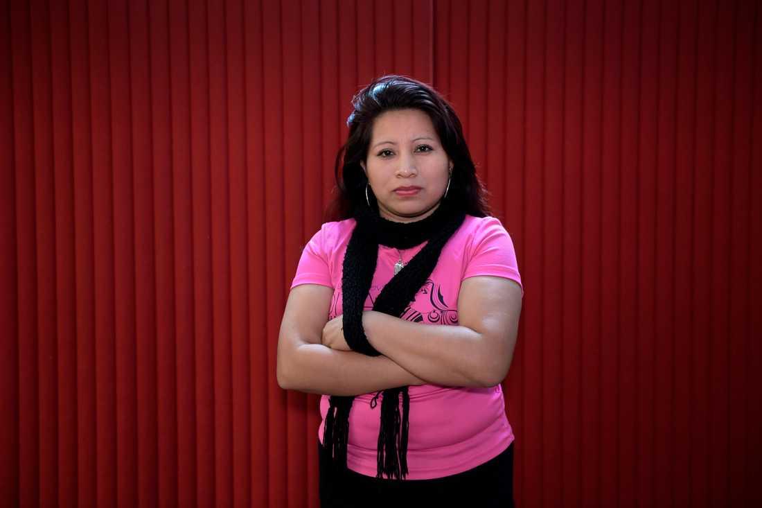 Teodora del Carmen Vásquez erhåller Per Anger-priset 2018. Redan under sin tid i fängelse i El Salvador började hon kämpa för kvinnors rättigheter.