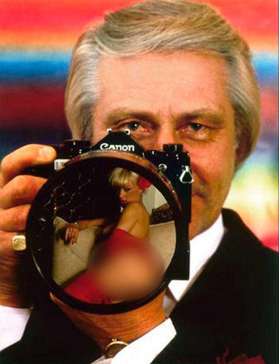 Berth Milton senior överlät sitt porrimperium till sonen i början av 1990-talet. Originalbilden är ett montage.