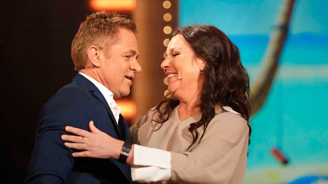 Rickard Olsson och Lotta Engberg.