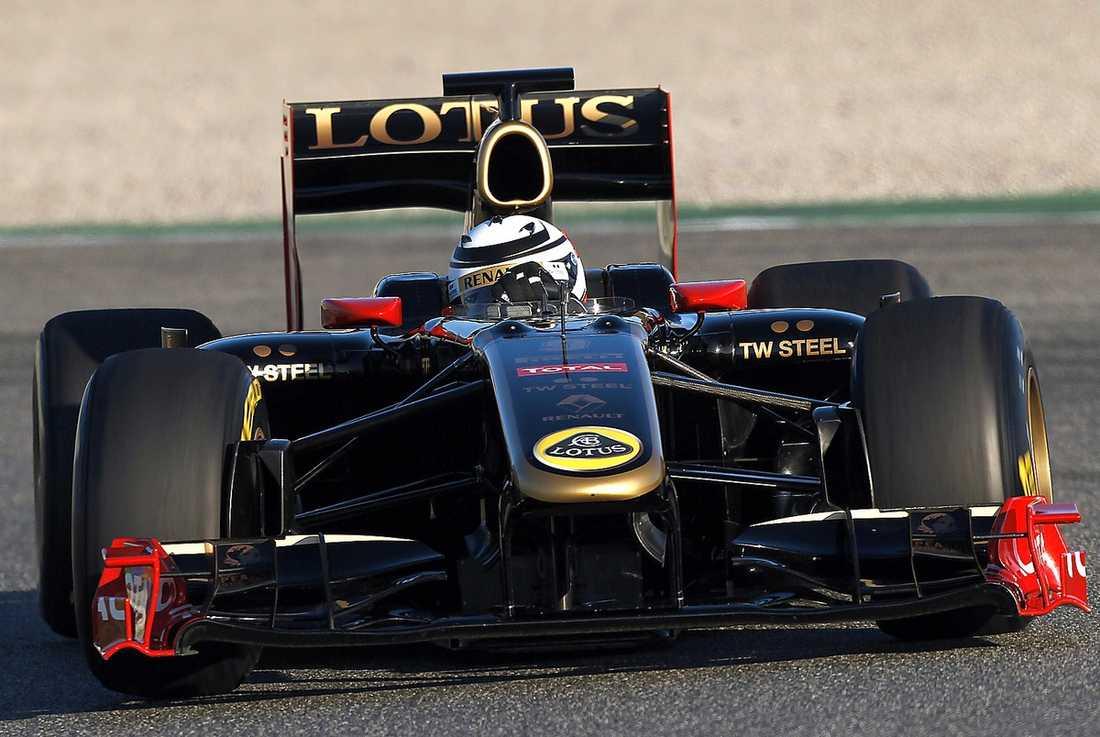 Kimi Räikkönen tog sin första seger efter comebacken.