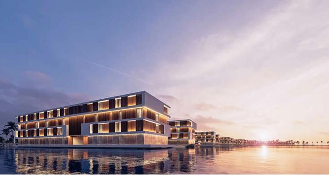 Qatar bygger flytande hotell till fansen inför VM