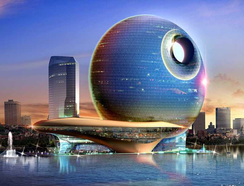 Hotel Full Moon blir 35 våningar högt och får 382 rum.