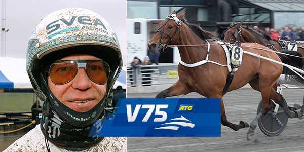 Örjan Kihlström och Double Exposure spikas på alla lördagens V75-system.