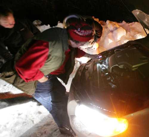 Håller Volvons motor för sträng kyla?