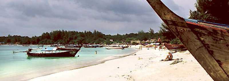 Pattaya Beach – som tagen från ett vykort.