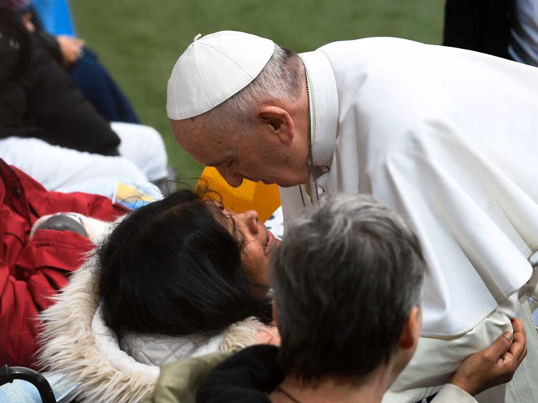 Påve Franciskus. Arkivbild.